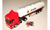 Scania R440 Highline Serie R (4x2) + Citerne Alimentaire ALAINE Transports red/white, масштабная модель, Eligor, scale43