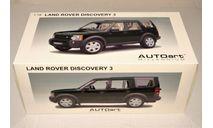 1/18 AUTOart Millenium 74803 Land Rover Discovery 3 2005 green metallic, England, масштабная модель, 1:18