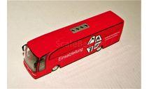 Mercedes-Benz Travego (4x2) Einsatzleitung red, масштабная модель, Schuco, scale87