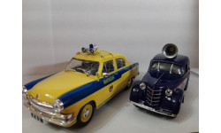 Автомобили на службе  2  модели одним лотом