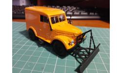 Автомобили на службе -ГАЗ-69 Г-3 Тротуароуборочная машина