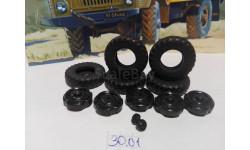 Колёса Газ-66 комплект***СКИДКА***, запчасти для масштабных моделей, AVD Models, 1:43, 1/43