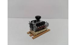 Двигатель ГАЗ-53, масштабная модель, UMI, 1:43, 1/43