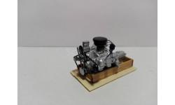 Двигатель ЗИЛ-130 (КАЗ), масштабная модель, AVD Models, scale43