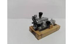 Двигатель ЗИС-120, масштабная модель, UMI, scale43