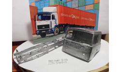 Рама+кабина МАЗ-5432, запчасти для масштабных моделей, AVD Models, scale43
