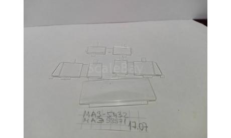 Стёкла Маз ранний, запчасти для масштабных моделей, AVD Models, scale43