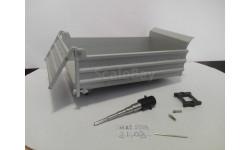 Кузов Маз-5550 комплект, запчасти для масштабных моделей, Автоистория (АИСТ), 1:43, 1/43