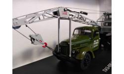 Автокран ЛАЗ-690 (на шасси ЗИЛ-164), масштабная модель, Start Scale Models (SSM), 1:43, 1/43