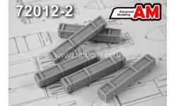 Тара НАР С-8 (в комплекте пять ящиков для НАР), сборная модель (другое), Advanced Modeling, 1:72, 1/72