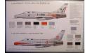 F-100F Super Sabre  1:72 Italeri, сборные модели авиации, scale72