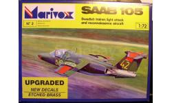 учебно-боевой самолет SAAB-105(Sk60)  1:72 Marivox