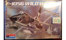 ударный самолет F-105G Wild Weasel 1:72 Monogram, сборные модели авиации, 1/72