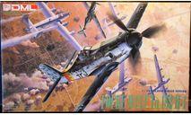 истребитель Фокке Вульф Ta 152H-1  1:72 Dragon, сборные модели авиации, scale72