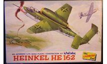 Хейнкель He 162A 1:72 Lindberg, сборные модели авиации, Heinkel, 1/72