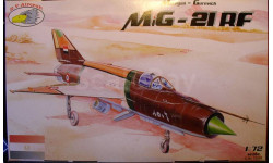 разведчик  МиГ-21РФ 1:72  RV aircraft, сборные модели авиации, scale72