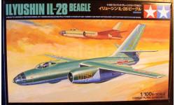Бомбардировщик Ил-28 1:100 Tamiya
