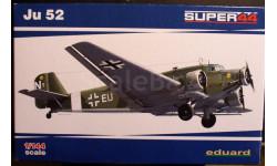 транспортный самолет Юнкерс Ju-52/3m  1:144 Eduard, сборные модели авиации, 1/144