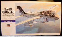 Палубный самолет РЭБ EA-6B Prowler 1:72 Hasegawa, сборные модели авиации, scale72