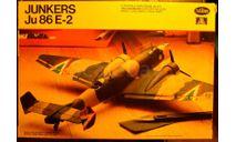 Бомбардировщик Юнкерс Ju 86E-2 1:72 Testors/Italeri, сборные модели авиации, Junkers, scale72