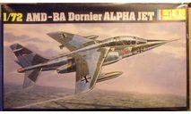 Учебно-боевой самолет Alpha Jet 1:72 Heller, сборные модели авиации, scale72