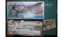 палубный штурмовик Douglas A-1J Skyraider 1:72 Airfix, сборные модели авиации, 1/72