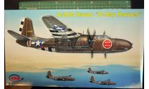 бомбардировщик A-20G Havoc (Boston) 'D-day' 1:72 MPM, сборные модели авиации, scale72
