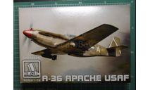 пикирующий бомбардировщик A-36A Apache 1:72 BrenGun, сборные модели авиации, 1/72
