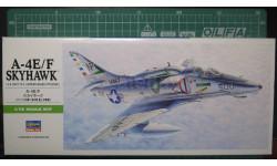 Палубный штурмовик  A-4E/F Skyhawk 1:72 Hasegawa