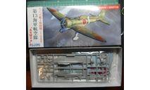 Палубный истребитель A5M2a Claude 1:72 Fujimi, сборные модели авиации, scale72