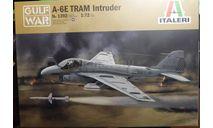Палубный штурмовик  A-6E Intruder Desert storm 1:72 Italeri, сборные модели авиации, scale72