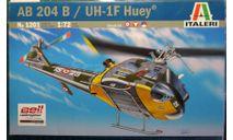 многоцелевой вертолет UH-1F Iroquois/AB-204 1:72 Italeri, сборные модели авиации, scale72