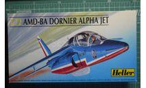Учебно-боевой самолет Alpha Jet 'Patroulle de France'  1:72 Heller, сборные модели авиации, scale72