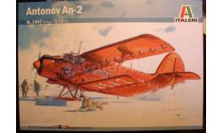 многоцелевой самолет Ан-2 (полярный) 1:72 Italeri, сборные модели авиации, Antonov, Italieri, scale72