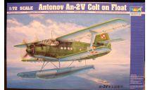 гидросамолет Ан-2В 1:72 Trumpeter, сборные модели авиации, scale72