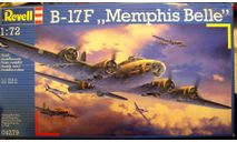 B-17F Flyng Fortress Memphis Belle 1:72 Revell, сборные модели авиации, scale72, Boeing