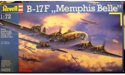 B-17F Flyng Fortress Memphis Belle 1:72 Revell