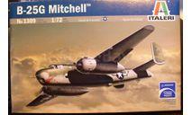 Бомбардировщик B-25G Mitchell 1:72 Italeri, сборные модели авиации, scale72
