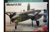 Бомбардировщик B-25C/D Mitchell 1:72 Italeri, сборные модели авиации, scale72