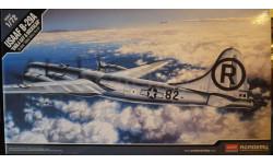 бомбардировщик B-29A Superfortress (Enola Gay & Bockscar) 1:72 Academy, сборные модели авиации, Boeing, 1/72