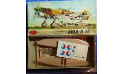 истребитель Avia B-35 1:72 KP, сборные модели авиации, scale72