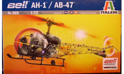 Легкий вертолет Bell-47 (АВ-47/АН-1) j он же OH-13 Sioux 1:72 Italeri