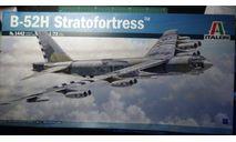 бомбардировщик B-52H Stratofortress 1:72 Italeri, сборные модели авиации, scale72, Boeing