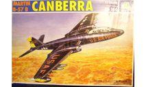 бомбардировщик Martin B-57B Canberra 1:72 Italeri, сборные модели авиации, scale72