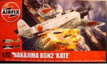 торпедоносец Nakajima B5N2 Kate :72 Airfix NEW!, сборные модели авиации, scale72