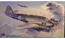 Bristol Beaufighter Mk. VI 1:72 Hasegawa, сборные модели авиации, scale72