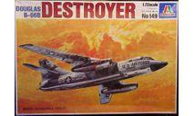 Бомбардировщик B-66 Destroyer 1:72 Italeri, сборные модели авиации, scale72