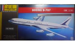 Пассажирский самолет Boeing 707  1:72  Heller, сборные модели авиации, 1/72