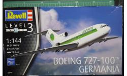 пассажирский самолет Boeing 727-100  1:144 Revell, сборные модели авиации, scale144