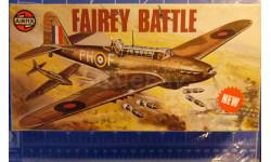 Легкий бомбардировщик Fairey Battle 1:72 Airfix, сборные модели авиации, 1/72